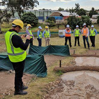 Erosion training